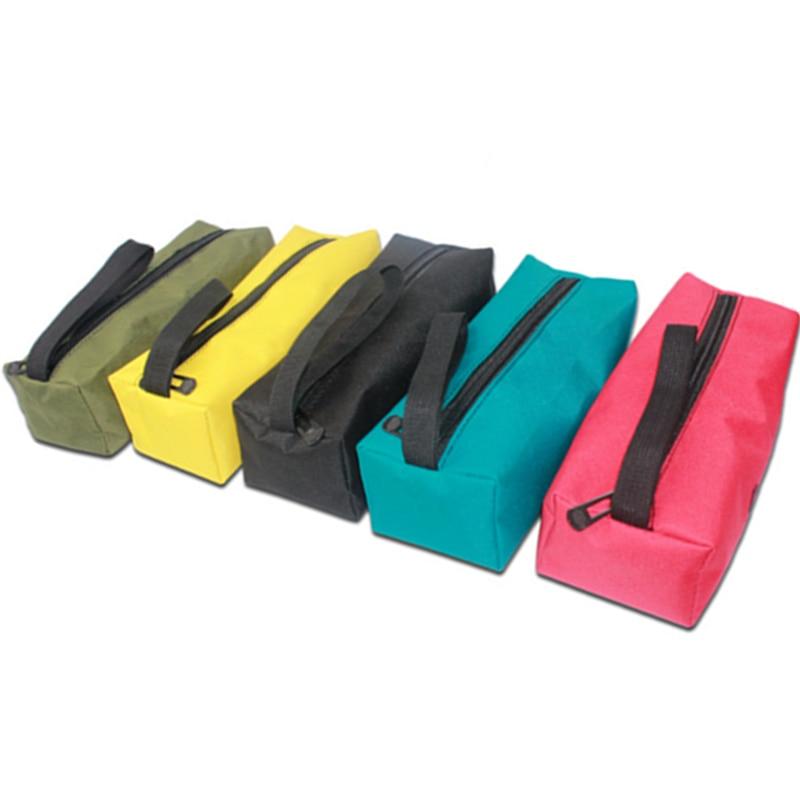 Úložné nářadí Utility Bag 1Pc Oxford Canvas Multifunkční vodotěsný pro malé kovové části s úchyty