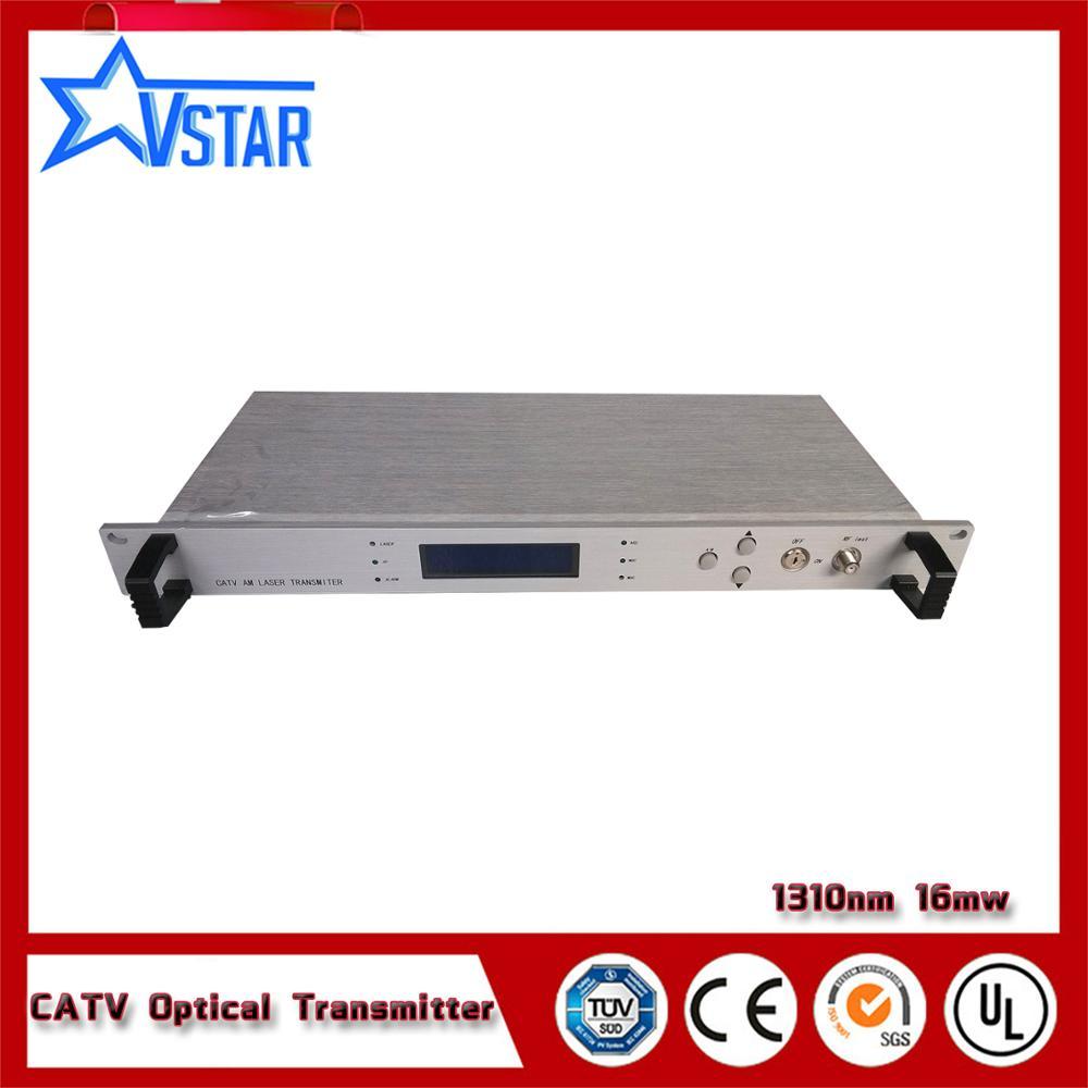 1310nm CATV Trasmettitore Ottico per FTTX Rete HFC 16mw