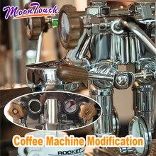 1 Set Coffee Machine Modification For EXPOBAR E61 Wooden Handle tools WelhomeKD-310/KD-210S2/KD-270S Espresso Accessories