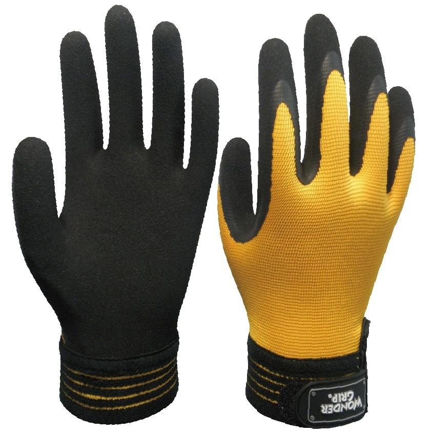 Driver Safety Glove fashion Mechanist working gloves Garden Glove slip-resistant wear-resistant oil ride Driving Work Glove maritime safety