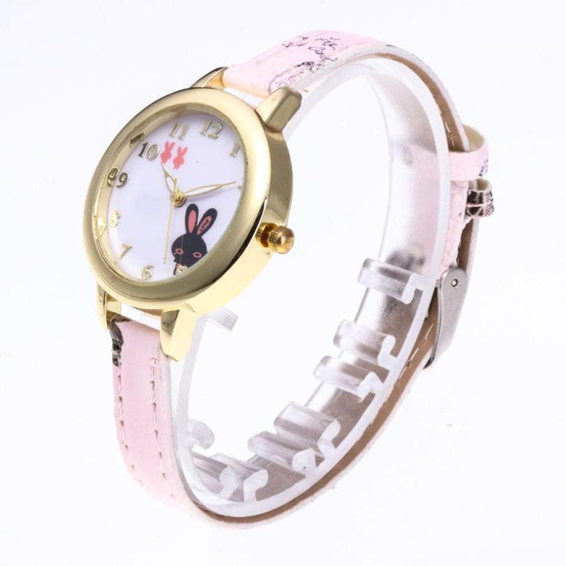 2018 Fancy Temperament Beautiful Women's Quartz Watch Casual Girls Animal Colorful Simple Birthday Gifts Ladies Wristwatches #D