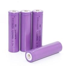 MP 100% новое поступление 3,7 V 18650 батарея 1200 mAh литий-ионная 18650 аккумуляторная батарея 18650 для светодиодный фонарик
