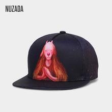 NUZADA 3D печать для мужчин и женщин пара хип хоп кепки милые классические бейсболки с животными полиэстер хлопок Личность весна лето