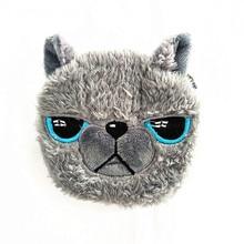 M016 Cute creative animal series fox rabbit Bear Plush Zero Wallet Coin Purses Women Wallet Girl
