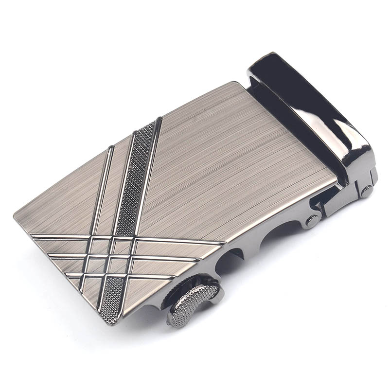 Mens Business Casual Belt Buckle Alloy Material Application Of Genuine Leather Body Width 3.7CM High Quality Of Fashion Luxury B