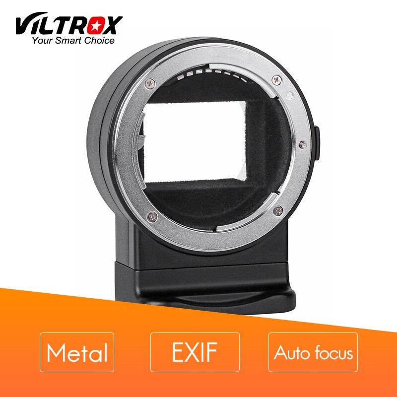 VILTROX Mount Adapter NF-E1 EXIF signal transmission mise au point Automatique AF pour Nikon F-monture pour Sony E-montage A7II A6500 A6300camera