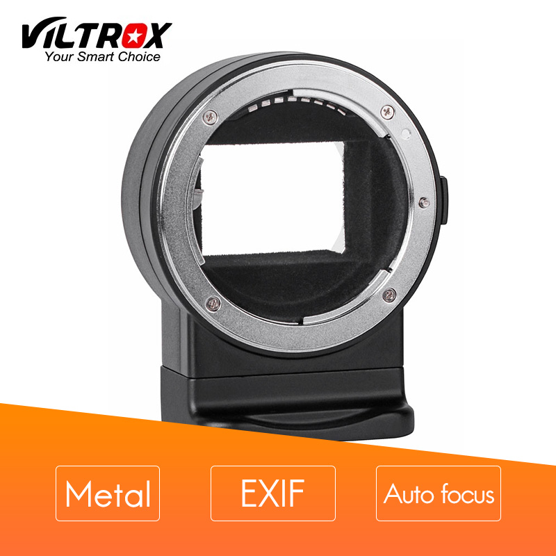 купить VILTROX Mount Adapter NF-E1 EXIF signal transmission Auto focus AF for Nikon F-mount lens to Sony E-mount A7II A6500 A6300camera по цене 11765.55 рублей
