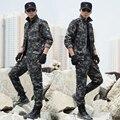 2017 Primavera Tatico Militar Del Ejército Uniforme de Combate Táctico Pantalones de Deporte Uniforme Multicam Militar CS Traje de Más Tamaño Para Los Hombres