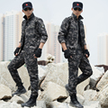 2017 Spring  Tactical Army Military Uniform Combat Tatico Pants  Uniforme Militar CS Suit Plus Size Multicam Army Clothing Men