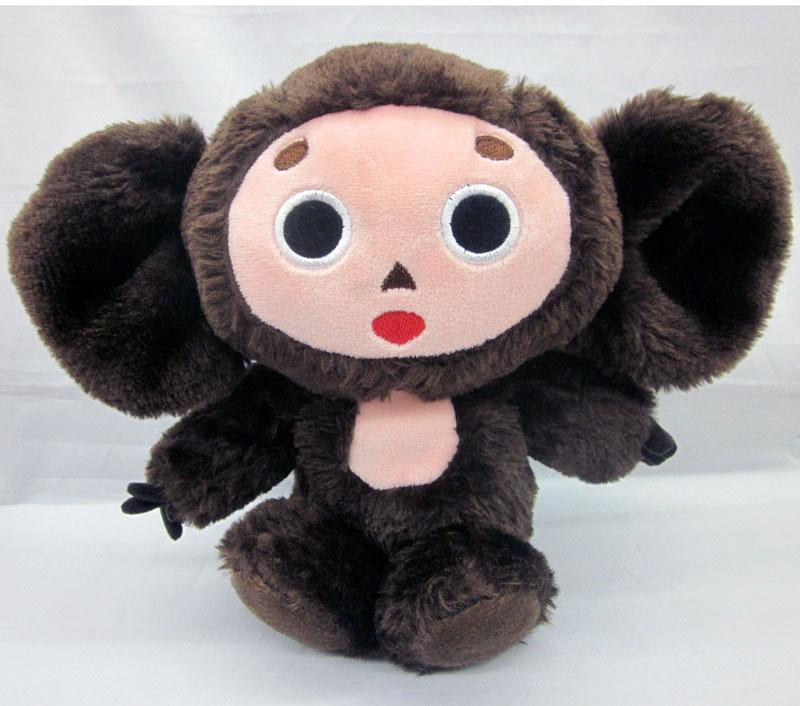 8 cartoon Cheburashka Cute Plush Soft Doll Toy free shipping