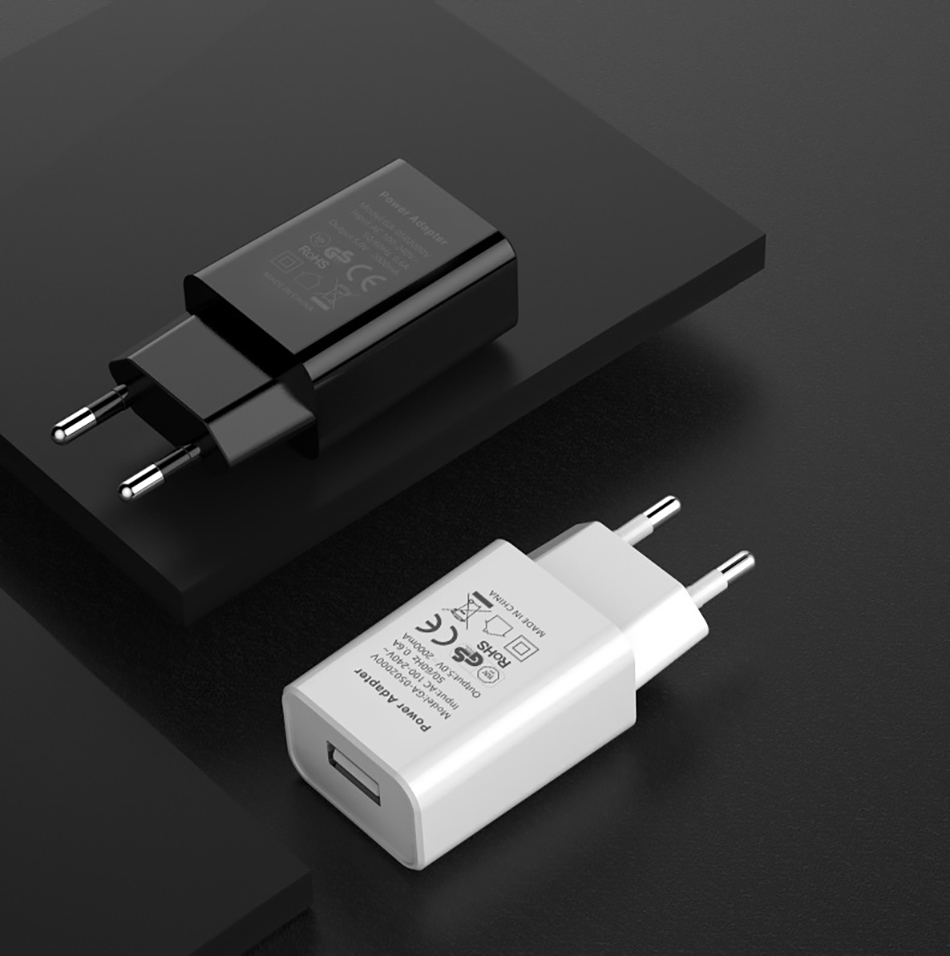 !ACCEZZ USB Charger 5V 1A Adapter For iphone 7 8 XS EU Plug Mobile Phone Wall Travel Charger Universal For Samsung S8 S9 Xiaomi (8)
