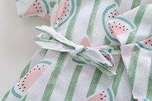 Summer Twin Baby Boy Girl Kimono Romper Bodysuit
