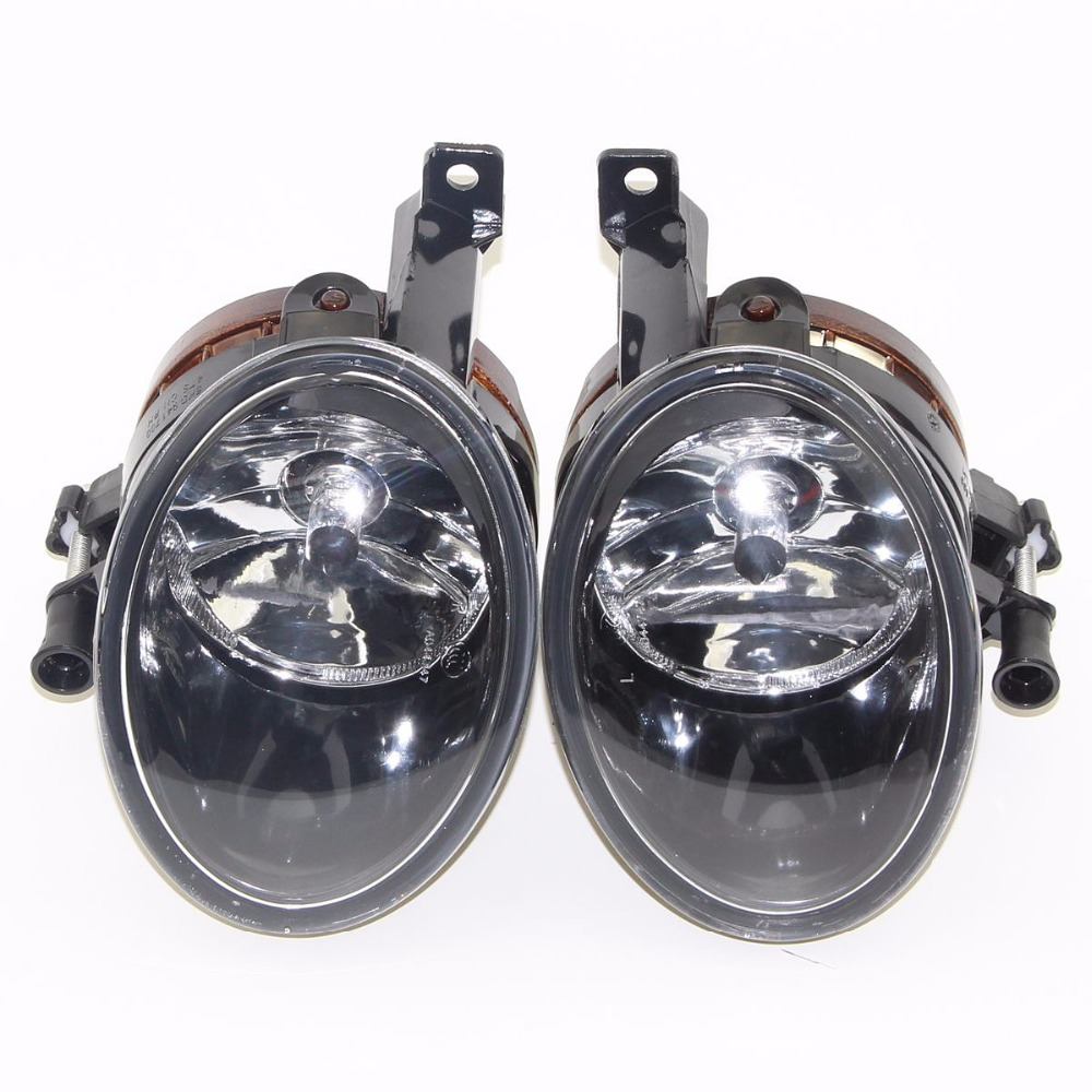 2pcs New Nocturnal Headlamp Lens Fog Light For  Jetta MK6 Golf MK6 Golf Plus Tiguan Touran Beetle EOS 5KD 941 699 5KD 941 700 tuke oem right front bumper fog lights for vw caddy jetta 6 golf mk6 eos touran tiguan 5kd 941 700 5k0 941 700 5kd941700