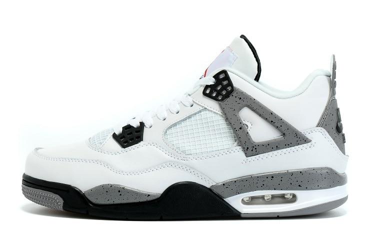 online store cdb83 57d61 Jordan Basketball shoes 4 CACTUS JACK Travis Scotts x White Cement KAWS IV  MONEY Jordan Men Sports Sneakers Basketball Shoes