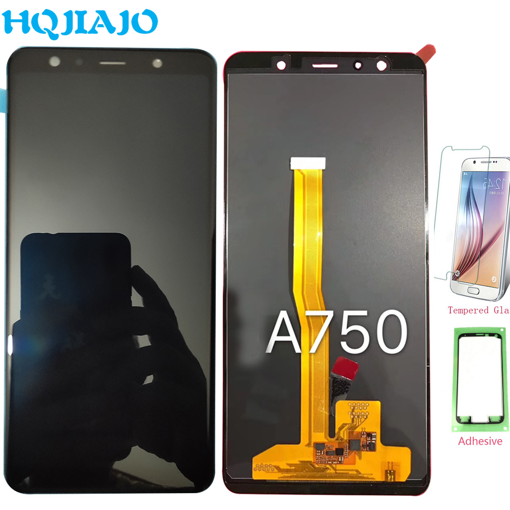 TFT Test For Samsung A750 LCD Display Touch Screen Digitizer For Samsung Galaxy A7 2018 A750
