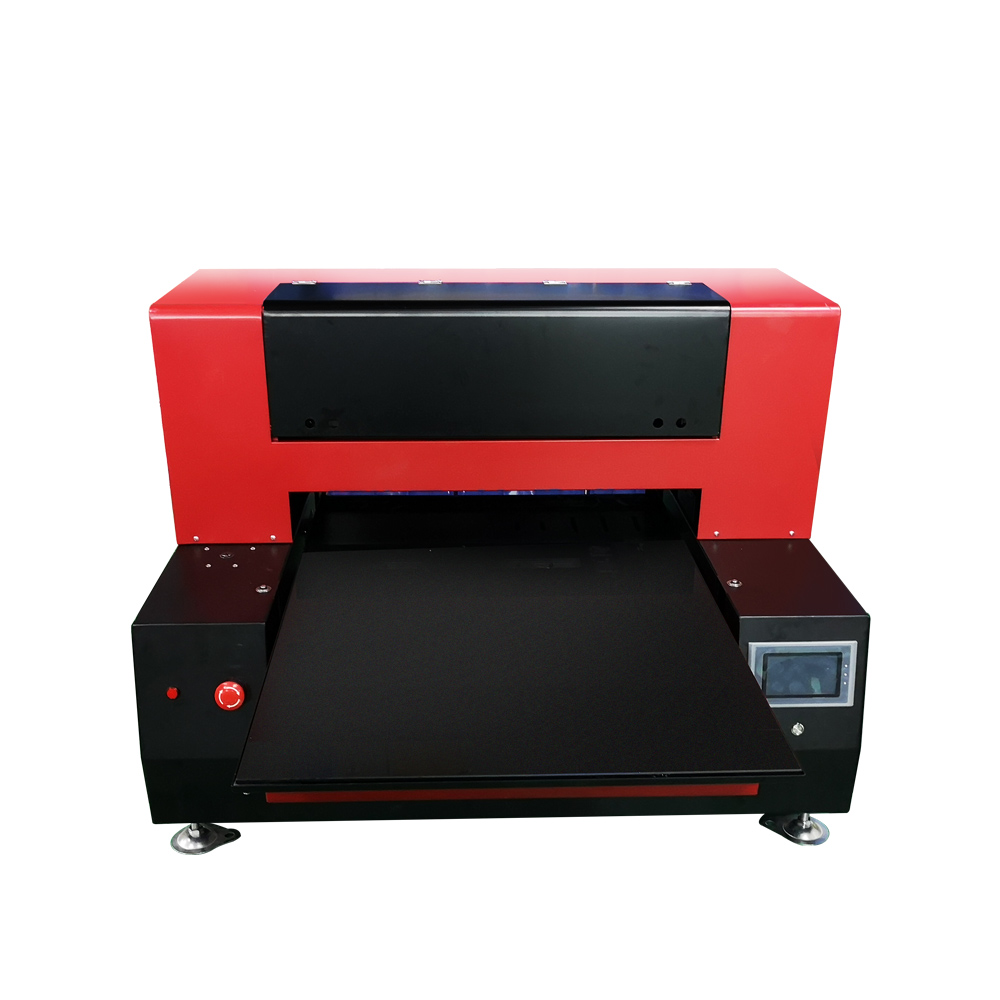 Automatic 6090 UV Flatbed Printer 12 colors With 2 Print head UV Printing Machine For Phone case t shirt acrylic wood leather
