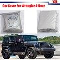 Dom coche Cubierta Rasguño Anti UV Lluvia Nieve Resistente Parasol Para Jeep Wrangler $ Number Puertas