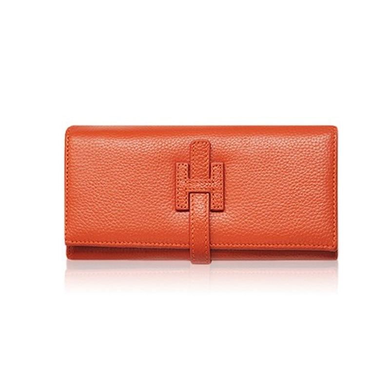 Designer Wallets Famous Brand Women Wallet 2017 Luxury Female Wallet Genuine Leather Ladies Purse Money Bag