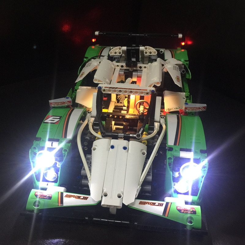 LED Light Kit (only light included) for lego 42039 and 20003 The 24 hours Race Car ( the car not included)LED Light Kit (only light included) for lego 42039 and 20003 The 24 hours Race Car ( the car not included)