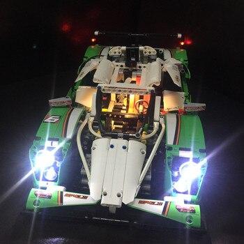 Zestaw oświetlenia LED (tylko światło w zestawie) do lego 42039 i 20003 24 godzin samochód wyścigowy (samochód nie jest wliczony w cenę)
