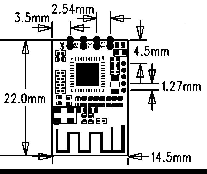 CC2530 модуль, модуль Zigbee, умный дом Беспроводной модуль, Интернет вещей Беспроводной модуль