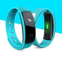 Smartch QS80 артериального давления Smart часы браслет монитор сердечного ритма фитнес спортивные трекер группа для IOS Android