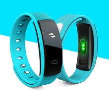 Smartch QS80 Blood Pressure Smart Wristband Watches Bracelet Heart Rate Monitor Fitness Sport Tracker Band for IOS Android