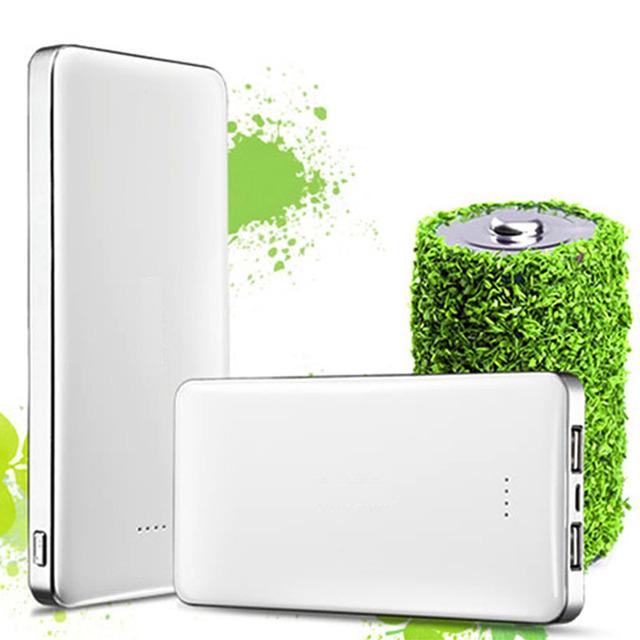 Alta calidad dual usb banco de la energía 8000 mah móvil batería externa powerbank portátil para ipad iphone tablet y teléfono móvil