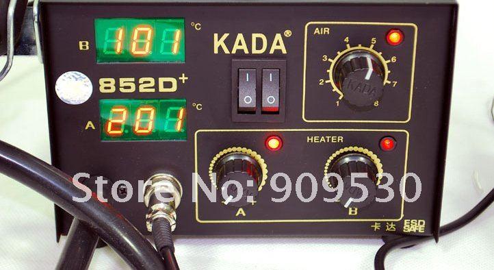110 В/220 В паяльная станция в тот же день работы из када 852D+ паяльная станция Ремонт системы горячий воздух