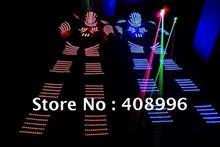 LED Luminous robot costume /David Guetta robot suit/ KRYOMAN Robot