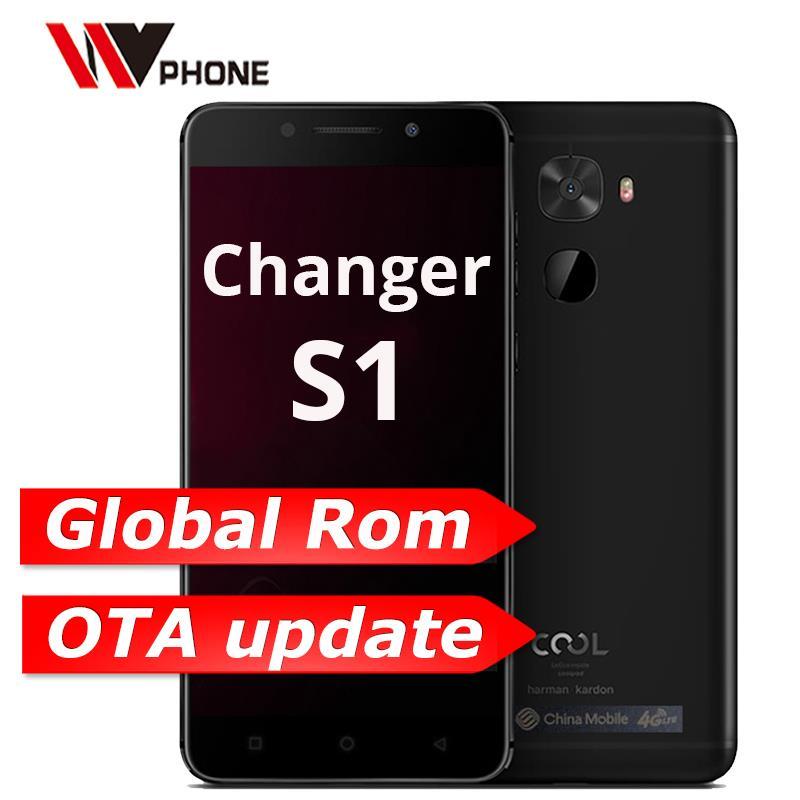 Coolpad/LeEco Cool Changeur S1 4G 64G D'origine Mobile Téléphone 4G LTE Snapdragon 821 Quad Core 5.5 1920x1080 P Rear16.0MP