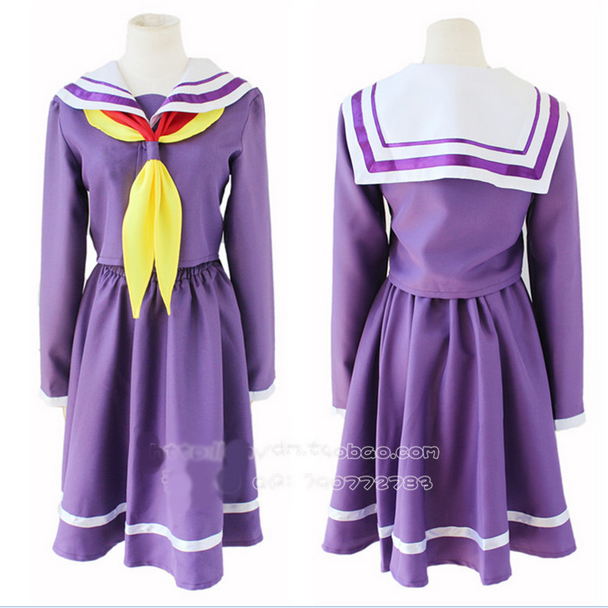 Helpful Hot Anime No Game No Life Shiro Cosplay Costumes Daily Halloween Cartoon Girls Lolita Dress Suits College Uniforms Home
