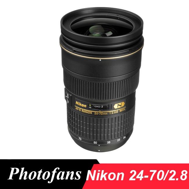 Nikon 24-70 AF-S Nikkor 24-70mm f/2.8G ED Lens цены онлайн