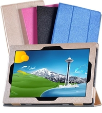 Silking PU Leather Cover Case for Lenovo Ideapad Miix 310-10ICR MIIX310 MIIX 310 Miix310-10ICR 10.1″ Tablet + Stylus Pen