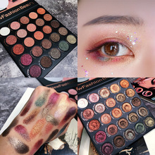 Professional Makeup Palette 25 Color Eyeshadow Pallete Shimmer Glitter Matte Pigmented Smoky Brand Cosmetic