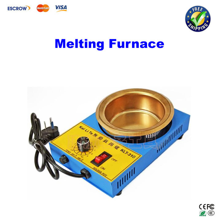 цена на Lead-free imports of stainless steel melting furnace thermostat solder pot 41C 300W