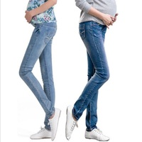 Elastic Waist Maternity Jeans Pants For Pregnancy Clothes For Pregnant Women Legging Autumn / Winter 2015 Maternity Plus Size