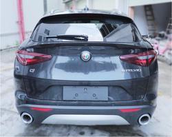 Z włókna węglowego na tylny spojler samochodu spoilery bagażnika dla Alfa Romeo Stelvio 2017 2018 2019