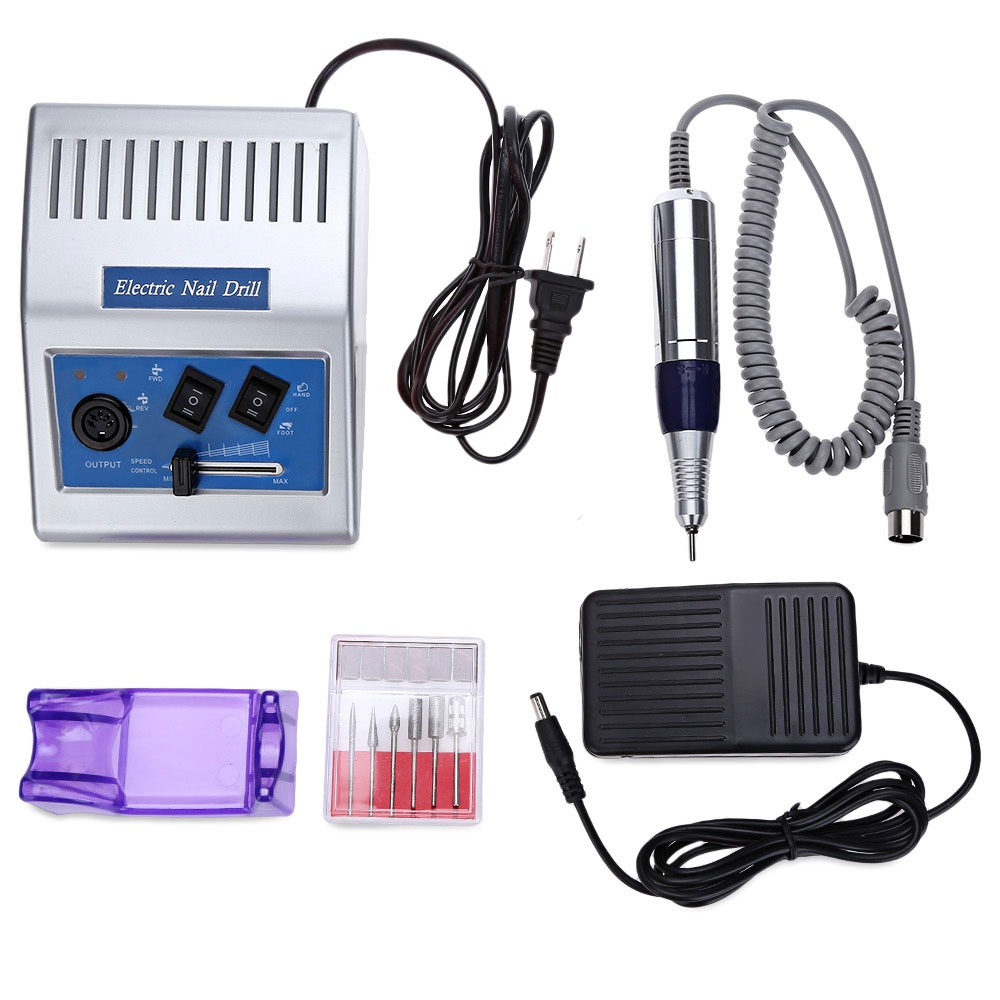 Professional 30000rpm Electric Nail Drill Machine High-grade Transfer Fast  Nail Salon Drill Kit Glazing Machine Manicure Pen excellet value 1 pc blue medium 3 32 white ceramic nail drill bit manicure professional electric manicure cutter nail tools