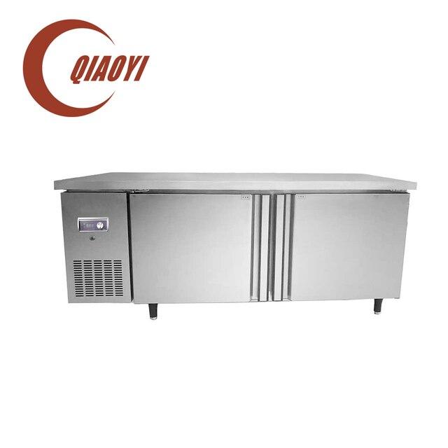 1.8m 2 Swing Door Pizza Preparation Undercounter Freezer