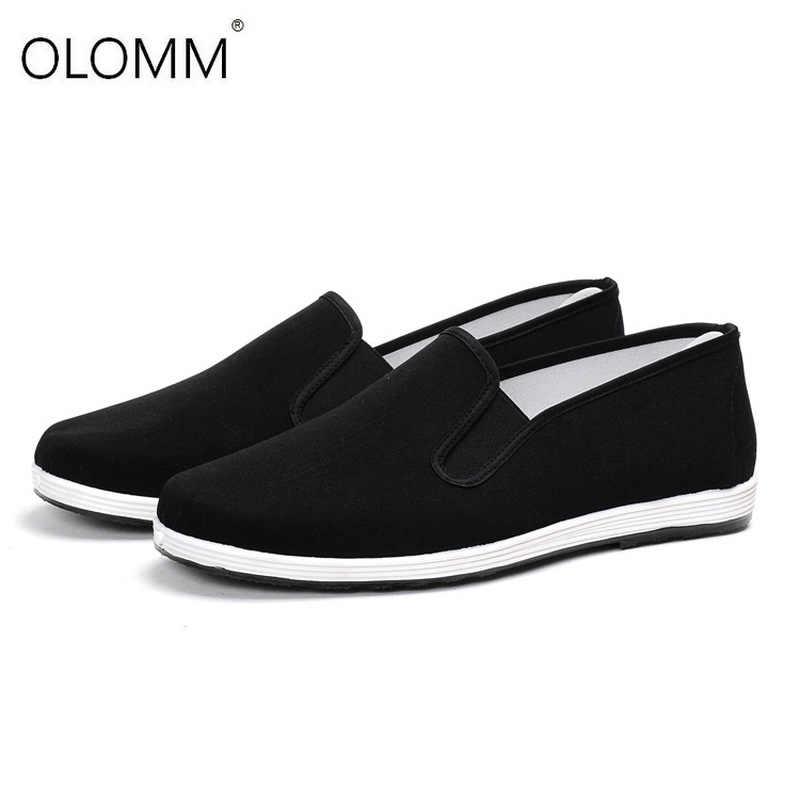 Classic Breathable Non - slip รองเท้าทำงาน Tenis Masculino Adulto Mens รองเท้าผ้าใบลำลอง 38-46