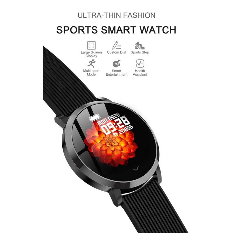 Hot LV09 Smart Watch1.3Inch Smart Band IP67 Waterproof Blood Pressure Monitoring Sports Men Women Bracelet For Android