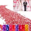 1000 pcs de Seda Pétalas de Rosa Flor Folhas DIY manual escrito À Mão Fontes Do Partido Decorações Do Casamento flores Artificiais pétala 6Z-HD008
