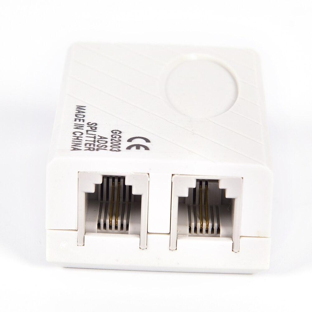 RJ11 Line ADSL Telephone Modem Broadband Phone Line Filter Splitter