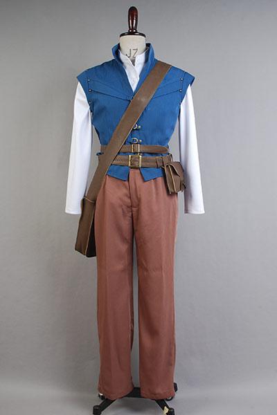 Tangled Prince Flynn Rider Eugene Fitzherbert Cosplay Costume Halloween Carnival Cosplay Costume