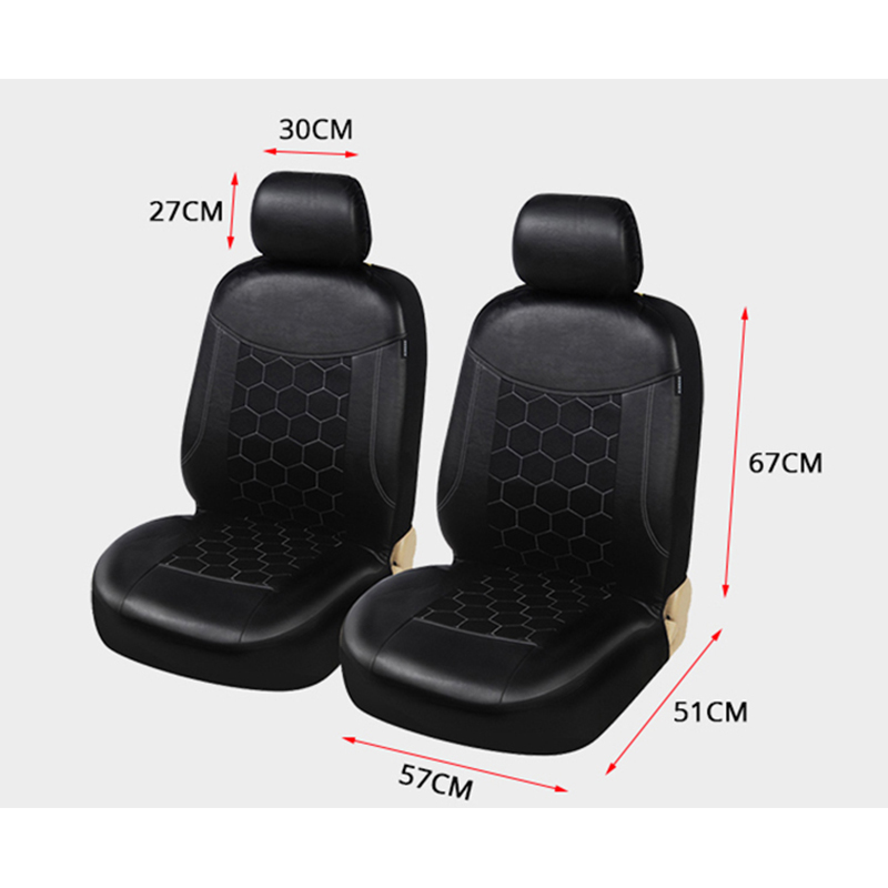 2PCS Auto Seat Covers PU Leather Seat Protector For honda accord 7 8 9 city civic 4d cr v crv fit hr v hrv jazz spirior stream-in Automobiles Seat Covers from Automobiles & Motorcycles    3