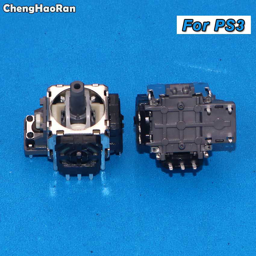 ChengHaoRan 2pcs/lot 3/4 Pins Sensor Module Potentiometer For Sony PS3 Controller Gamepad 3D Analog Joystick Thumbstick