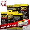 100 Original Nitecore D4 D2 New I4 I2 Battery Charger LCD Intelligent Li Ion Charging 18650