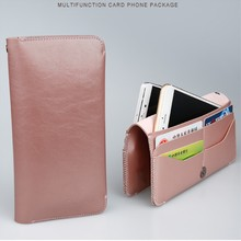Multifunction Leather Pouch For Samsung Huawei iPhone X 7 6s Plus Wallet Case Bag With Card Slots Money Pocket Phone Cover Coque(China)
