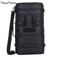 Casual Men Military Tactical Bags Waterproof Oxford Hiking Camping Backpacks Outdoor Travel Bag Laptop Backpack Step